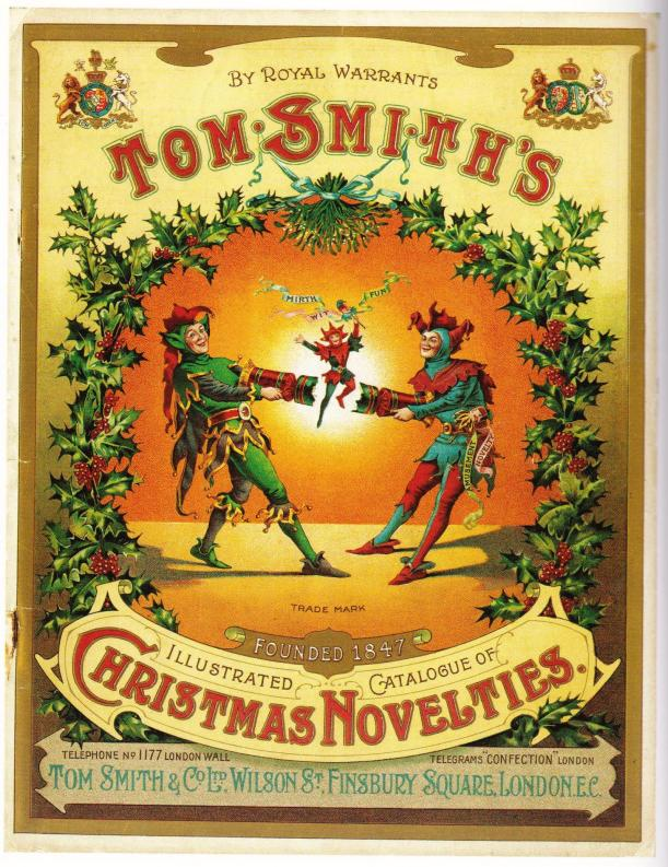 Tom Smith's Christmas Crackers Catalogue front cover