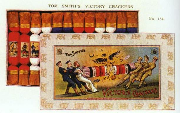Tom Smith's box of Victory Christmas Crackers