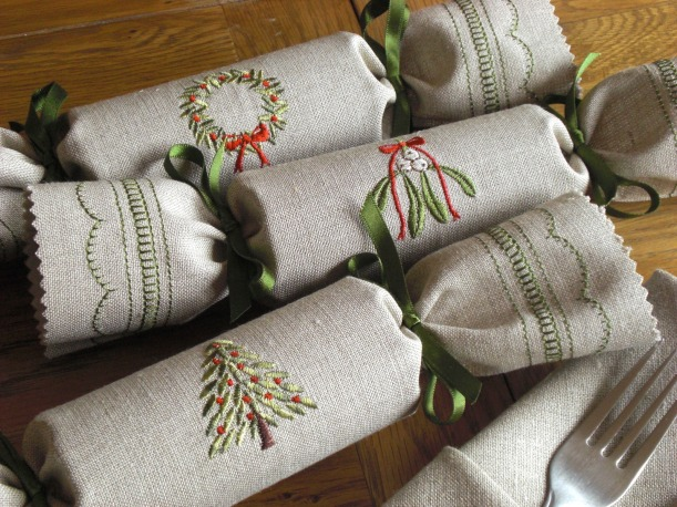 Woodland Reusable Christmas Crackers by Kate Sproston Design